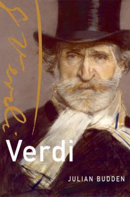 Verdi - Master Musicians Series (Hardback)