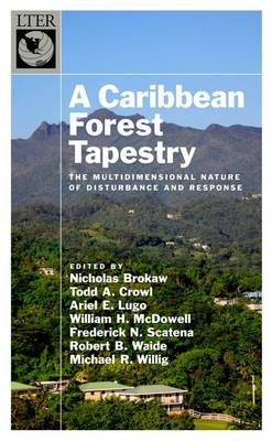 A Caribbean Forest Tapestry: The Multidimensional Nature of Disturbance and Response - The Long-Term Ecological Research Network Series (Hardback)