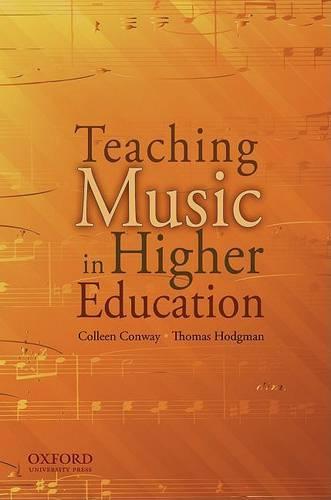 Teaching Music in Higher Education (Paperback)
