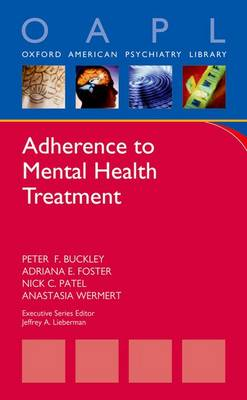 Adherence to Mental Health Treatment (Paperback)