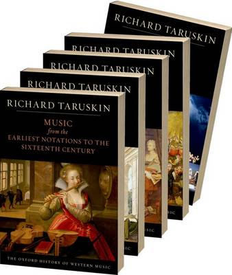 Oxford History of Western Music: (5 Volumes)