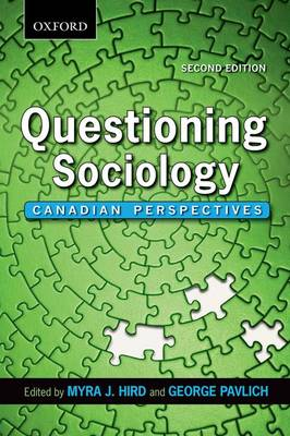 Questioning Sociology: Canadian Perspectives (Paperback)