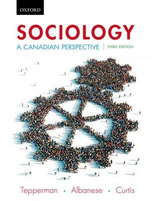 Sociology: A Canadian Perspective (Hardback)