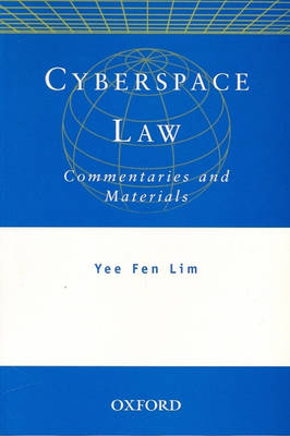Cyberspace Law: Commentaries and Materials (Paperback)