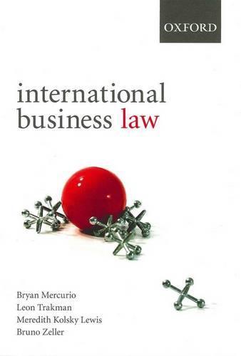 International Business Law: International Business Law - International Business Law (Paperback)