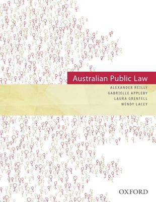 Australian Public Law (Paperback)