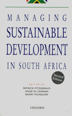 Managing Sustainable Development in South Africa (Paperback)