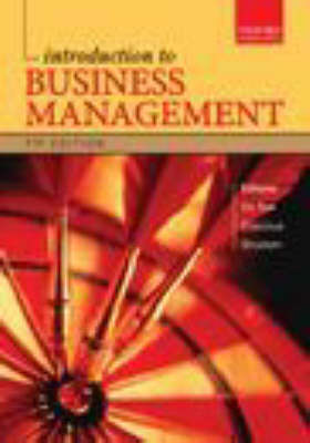 Introduction to Business Management (Paperback)