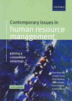 Contemporary Issues in Human Resource Management: Gaining a Competitive Advantage (Paperback)