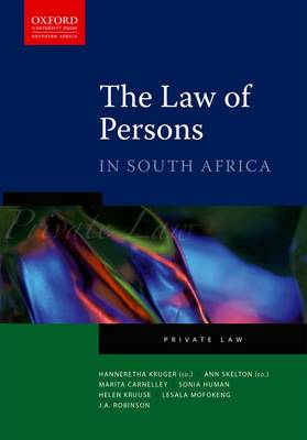 The Law of Persons in South Africa (Paperback)