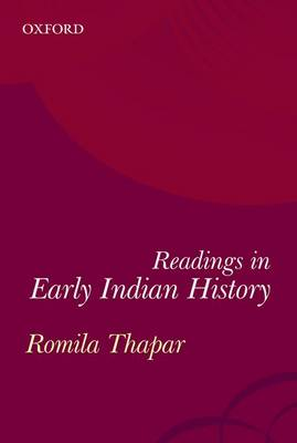 Early Indian History: A Reader (Paperback)