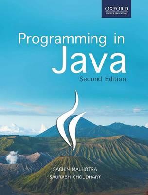 Programming in Java (Paperback)