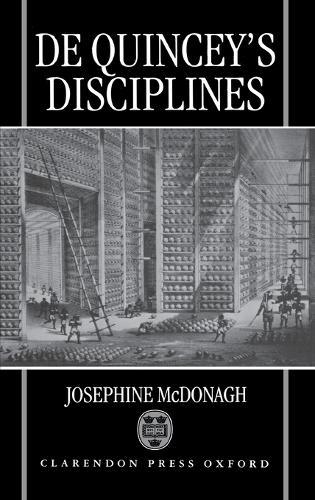 De Quincey's Disciplines (Hardback)