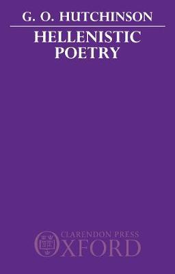 Hellenistic Poetry (Hardback)