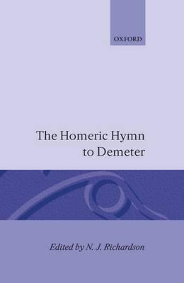 The Homeric Hymn to Demeter (Hardback)