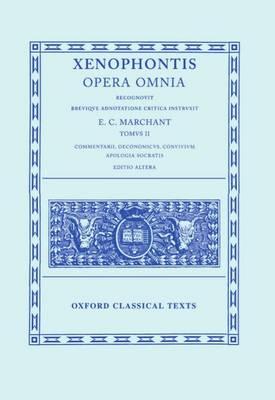 Xenophon II. Libri Socratici - Oxford Classical Texts (Hardback)