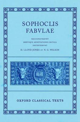 Sophocles Fabulae - Oxford Classical Texts (Hardback)