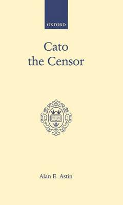 Cato the Censor (Hardback)