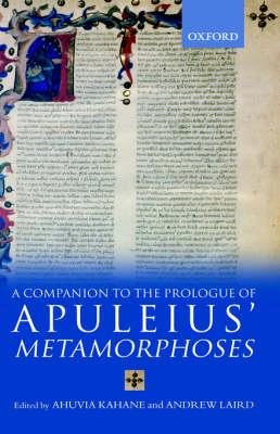 A Companion to the Prologue of Apuleius' Metamorphoses (Hardback)