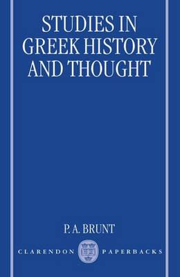 Studies in Greek History and Thought (Paperback)