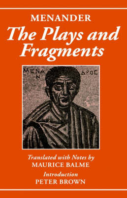 Menander: The Plays and Fragments (Hardback)