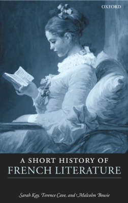 A Short History of French Literature (Hardback)