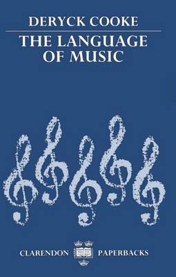 The Language of Music - Clarendon Paperbacks (Paperback)