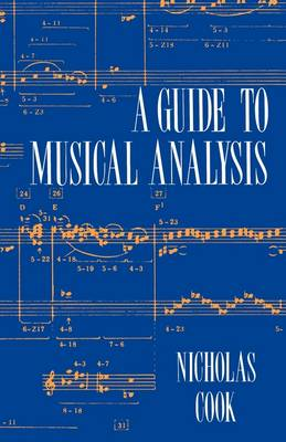 A Guide to Musical Analysis (Paperback)