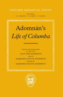 Adomnan's Life of Columba - Oxford Medieval Texts (Hardback)