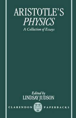 Aristotle's Physics: A Collection of Essays (Paperback)
