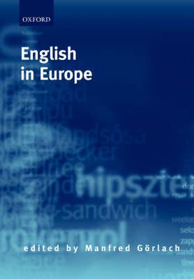 English in Europe (Hardback)