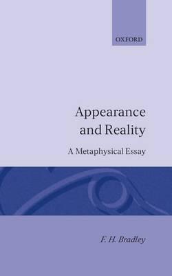 Appearance and Reality (Hardback)