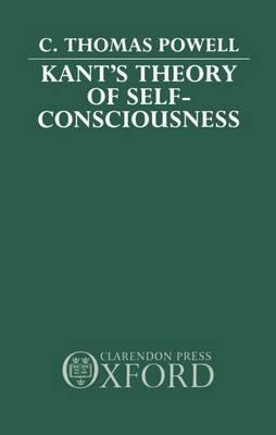 Kant's Theory of Self-Consciousness (Hardback)