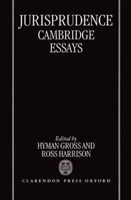 Jurisprudence: Cambridge Essays (Hardback)