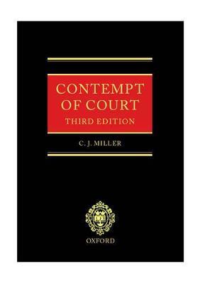 Contempt of Court (Hardback)