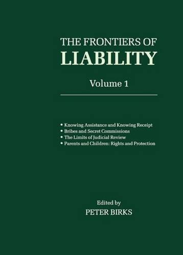 Frontiers of Liability: Volume 1 - Frontiers of Liability (Paperback)