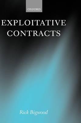 Exploitative Contracts (Hardback)