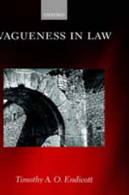 Vagueness in Law (Hardback)
