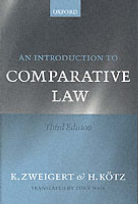 An Introduction to Comparative Law (Paperback)