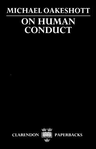On Human Conduct - Clarendon Paperbacks (Paperback)