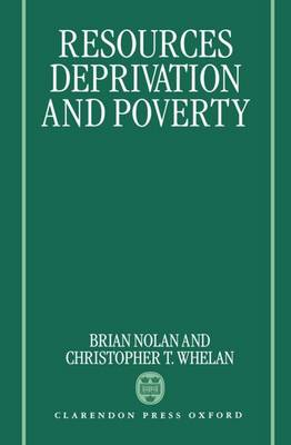 Resources, Deprivation, and Poverty (Hardback)