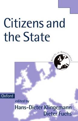 Citizens and the State - Beliefs in Government 1 (Paperback)