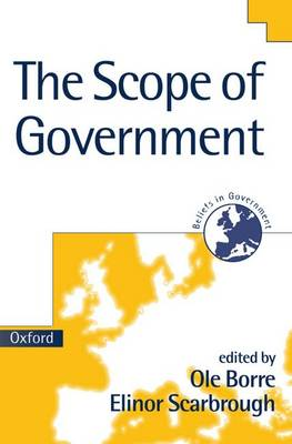 The Scope of Government - Beliefs in Government 3 (Paperback)