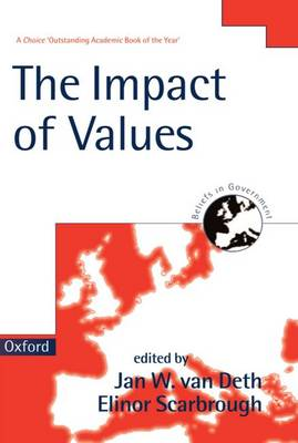 The Impact of Values - Beliefs in Government 4 (Paperback)
