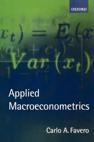 Applied Macroeconometrics (Paperback)