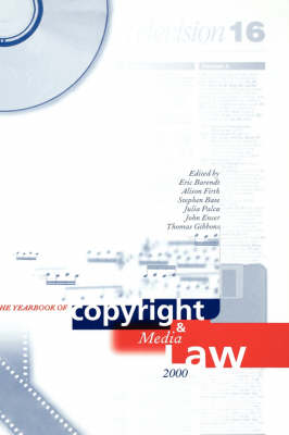 Yearbook of Copyright and Media Law: Volume V, 2000 - Yearbook of Copyright and Media Law (Hardback)
