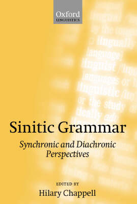 Sinitic Grammar: Synchronic and Diachronic Perspectives (Hardback)