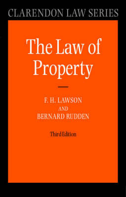Law of Property - Clarendon Law Series (Paperback)