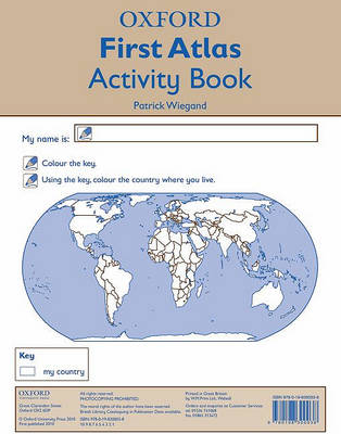 Oxford First Atlas Activity Book (Paperback)