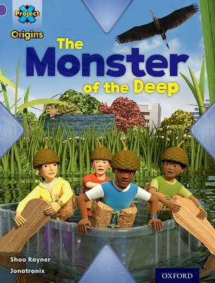 Project X Origins: Purple Book Band, Oxford Level 8: Habitat: The Monster of the Deep - Project X Origins (Paperback)